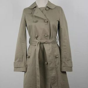 Marc by Marc Jacobs Classic Khaki Tan Trench Coat